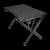 Kép 1/4 - Trust Gamer asztal - GXT 711 Dominus (Fa lap, fém lábak; fekete; 116x75x75 cm; pohártartó; kábel menedzsment)
