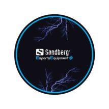 Sandberg Gamer Szőnyeg - Gaming Chair Floor Mat (Méret: 100x100x0,3 cm, csúszásmentes, fekete)