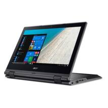 Acer TravelMate TMB118-G2-RN-P2B3 2-in-1 notebook fekete