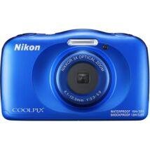 Nikon Coolpix W150 digitális fényképezőgép kék + hátizsák