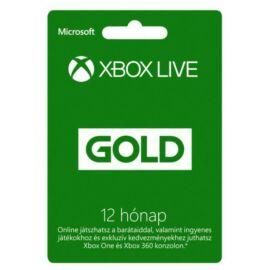 Microsoft 12 hónapos Xbox Live Gold előfizetés (52M-00547)