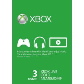 Microsoft Xbox Live GOLD 3 hónapos előfizetés