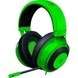 Razer Kraken Zöld Gamer fejhallgató