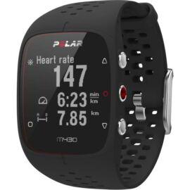 Polar M430 futóóra GPS-szel, fekete