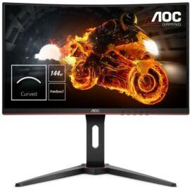 AOC C24G1 24 Ívelt FullHD 144 Hz 16:9 FreeSync VA LED Gamer Monitor