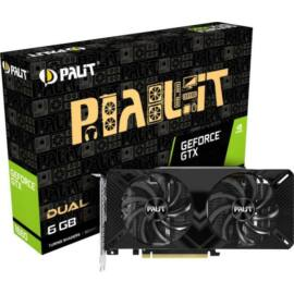 Palit GeForce Dual GTX 1660 6GB GDDR5 192bit