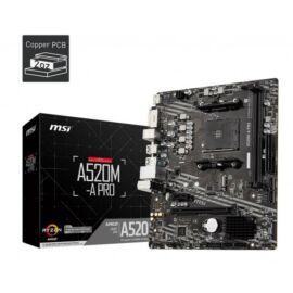MSI A520M-A PRO Alaplap