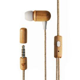 Energy Sistem Fülhallgató -  Eco Cherry Wood (3,5 Jack, mikrofon Sztereó fülhallgató, natúr fa (45042))