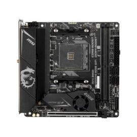 MSI MPG B550I Gaming Edge WiFi - AMD - Socket AM4 - AMD Ryzen - DDR4-SDRAM - DIMM - 1866, 2133, 2400, 2667, 2800, 2933, 3000, 3066, 3200, 3466, 3600, 3733, 3866, 4000, 4133, 4266, 4400, 4466, 4533, 4600 (7C92-002R)