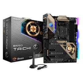 ASRock B550 TAICHI AMD B550 AM4 ATX 4 DDR4 HDMI DP XFire AX Wi-Fi 2.5GB LAN PCIe4 RGB Lighting M.2 - AMD - Socket AM4 - AMD Ryzen - DDR4-SDRAM - DIMM - 2133, 2400, 2667, 2933, 3200, 3466, 3600, 3733, 3800, 3866, 4000, 4133, 4200, 4266, 4333, 440