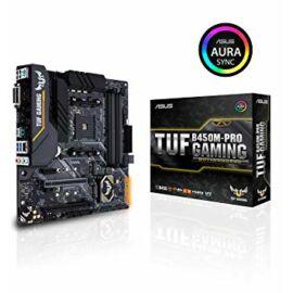 ASUS TUF B450M-PRO GAMING AMD B450 SocketAM4 mATX alaplap