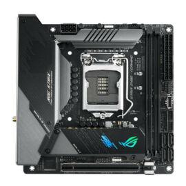 ASUS ROG STRIX Z490-I GAMING mini-ITX Mainboard 1200 DP/HDMI/M.2/USB3.2/WIFI/BT - Motherboard - Mini-ITX (90MB13A0-M0EAY0)