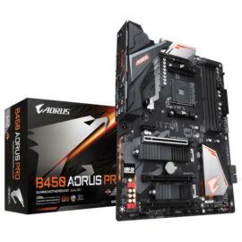 Gigabyte B450 AORUS PRO desktop alaplap ATX