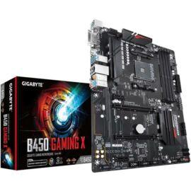 Gigabyte Alaplap - AMD B450 GAMING X AM4 (B450, 4xDDR4 2933MHz, PCI-E, RAID, 6xSATA3, M.2, 6xUSB2.0, 6xUSB3.1)
