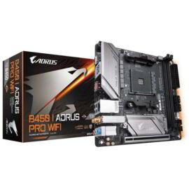 Gigabyte B450 I AORUS PRO WIFI desktop alaplap Mini-ITX