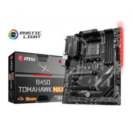 MSI Alaplap AM4 B450 TOMAHAWK MAX AMD B450, mATX