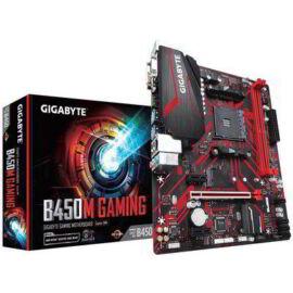 Gigabyte Alaplap - AMD B450M GAMING AM4 (B450, 2xDDR4 2933MHz, PCI-E, RAID, 4xSATA3, M.2, 6xUSB2.0, 6xUSB3.1)