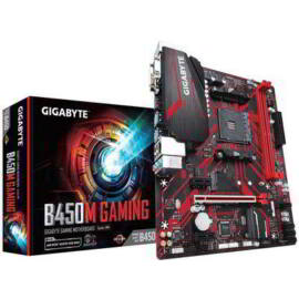 Gigabyte B450M GAMING desktop alaplap microATX