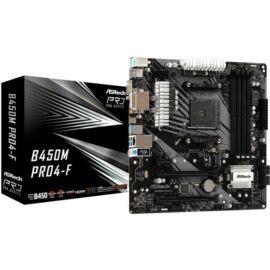 Asrock B450M PRO4-F desktop alaplap microATX