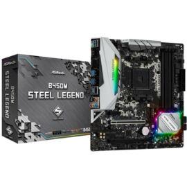 AL ASRock sAM4 B450M Steel Legend