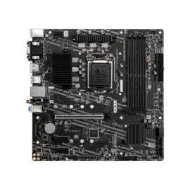 MSI B460M PRO-VDH WIFI desktop alaplap microATX (csak LGA1200-G10 támogatás)