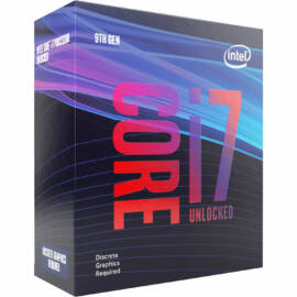 INTEL CPU S1151 Core i7-9700KF 3.6GHz 12MB Cache BOX, noVGA