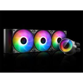 DeepCool CPU Water Cooler - CASTLE 360RGB V2 (max 30dB; max. 117,80 m3/h; 3x12cm)
