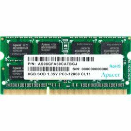 Apacer Memória Notebook - 8GB DDR3 (1600MHz, CL11, 1.35V)