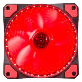 Marvo Cooler 12cm - FN-11 RD (18dB; max. 97,18 m3/h; 3pin csatlakozó; ház hűtésre, piros LED)