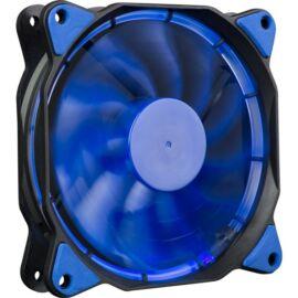 Marvo Cooler 12cm - FN-12 BL (18dB; max. 97,18 m3/h; 3pin csatlakozó; ház hűtésre, kék LED)