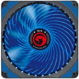 Marvo Cooler 14cm - FN-16 BL (28dB; max. 93,45 m3/h; 4pin csatlakozó; ház hűtésre, kék LED)
