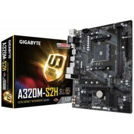 Gigabyte Alaplap - AMD GA-A320M-S2H AM4  (A320, 2xDDR4 3200MHz, PCI-E, 1xGBE LAN, 4xSATA3, 6xUSB2.0, 2xUSB3.1)