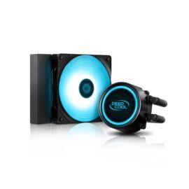 DeepCool CPU Water Cooler - GAMMAXX L120T BLUE (30dB, max. 117.80 m3/h, 12cm)