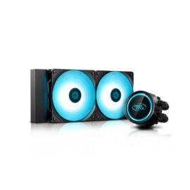 DeepCool CPU Water Cooler - GAMMAXX L240 V2 (18,9-30dB, max. 117.80 m3/h, 2x12cm)