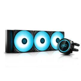 DeepCool CPU Water Cooler - GAMMAXX L360 V2 (18,9-30dB, max. 117.80 m3/h, 3x12cm)