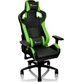 Tt eSPORTS GT Fit 100 játékülés fekete-zöld