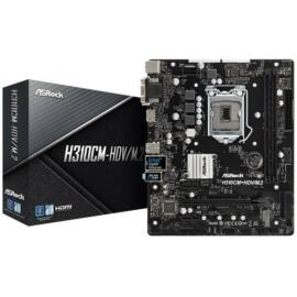 Asrock H310CM-HDV desktop alaplap microATX