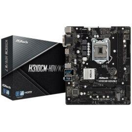 Asrock H310CM-HDV/M.2 desktop alaplap microATX
