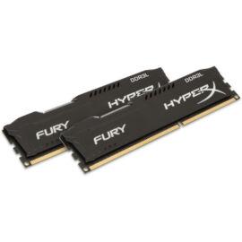 Kingston 16GB/1866MHz DDR-3 (Kit 2db 8GB) HyperX FURY fekete LoVo (HX318LC11FBK2/16) memória