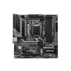 MSI MAG B460M MORTAR desktop alaplap microATX (csak LGA1200-G10 támogatás)
