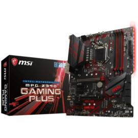 MSI MPG Z390 GAMING PLUS desktop alaplap ATX