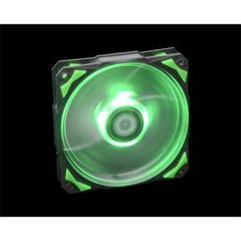 ID-Cooling Cooler 12cm - PL-12025-G (14-35dB, max. 120,96 m3/h, 4pin csatlakozó, PWM, Zöld LED)