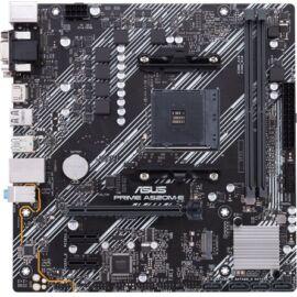 Asus Alaplap - AMD PRIME A520M-E AM4 (A520, 2xDDR4 4600MHz, 1xGBE LAN, 1xM.2, 4xSATA3, 6xUSB2.0, 7xUSB3.2)