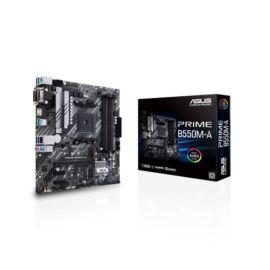 Asus Alaplap - AMD PRIME B550M-A AM4 (B550, 4xDDR4 4800MHz, 4xSATA3, 2x M.2, Raid, 4xUSB2.0, 8xUSB3.2)