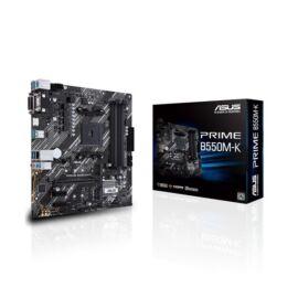 ASUS Alaplap AM4 PRIME B550M-K AMD B550, mATX