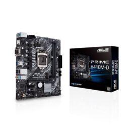 Asus PRIME H410M-D desktop alaplap microATX (csak LGA1200-G10 támogatás)