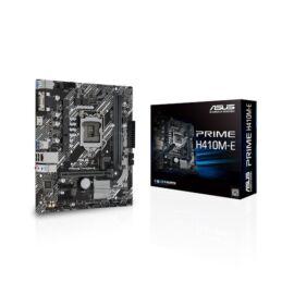 Asus Alaplap - Intel PRIME H410M-E s1200 (H410, 2xDDR4 2933MHz, 4xSATA3, M.2, 6xUSB2.0, 4xUSB3.2)