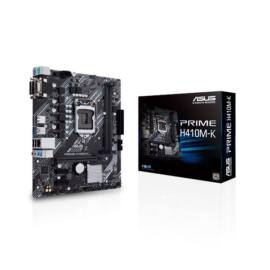 Asus Alaplap - Intel PRIME H410M-K s1200 (H410, 2xDDR4 2933MHz, 4xSATA3, 6xUSB2.0, 4xUSB3.2)