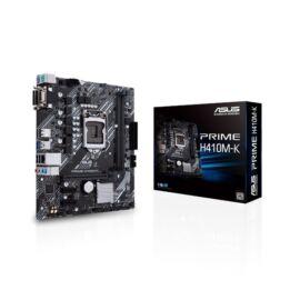 Asus PRIME H410M-K desktop alaplap microATX (csak LGA1200-G10 támogatás)