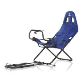 Playseat® Szimulátor cockpit - Challenge PS (Tartó konzolok: kormány, pedál, összecsukható, kék) RCP.00162